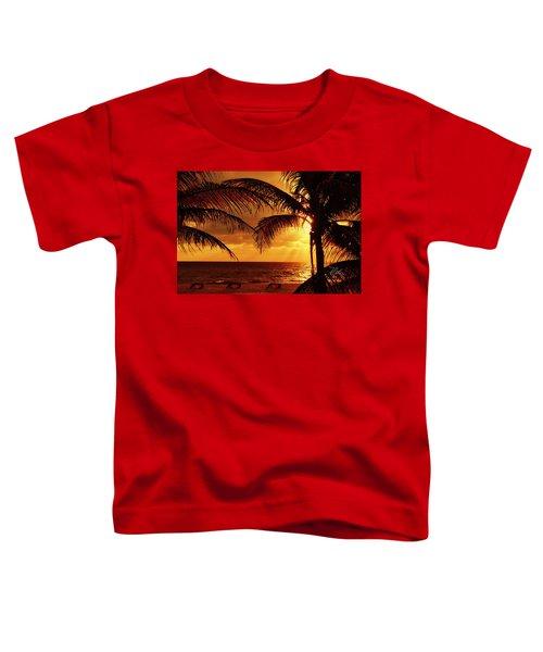 Golden Sunrise Toddler T-Shirt