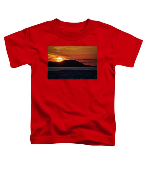 Toddler T-Shirt featuring the photograph Goodnight Superior by Doug Gibbons