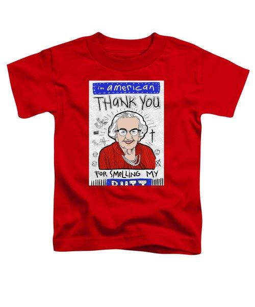 Gratitude Toddler T-Shirt
