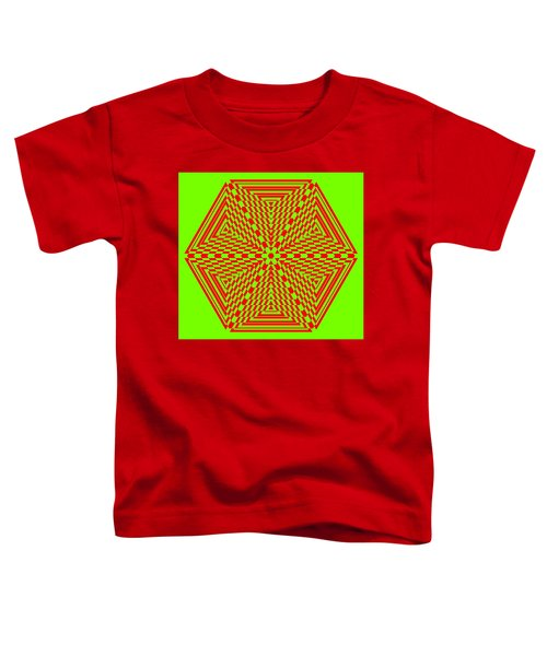 Green And Red Fusion  Toddler T-Shirt