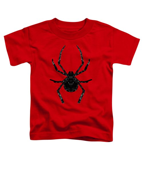 Halloween Spider  Toddler T-Shirt