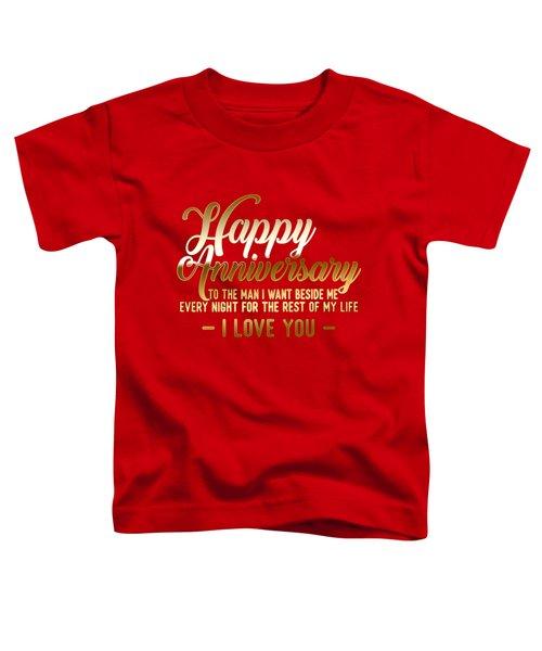 Happy Anniversary Toddler T-Shirt