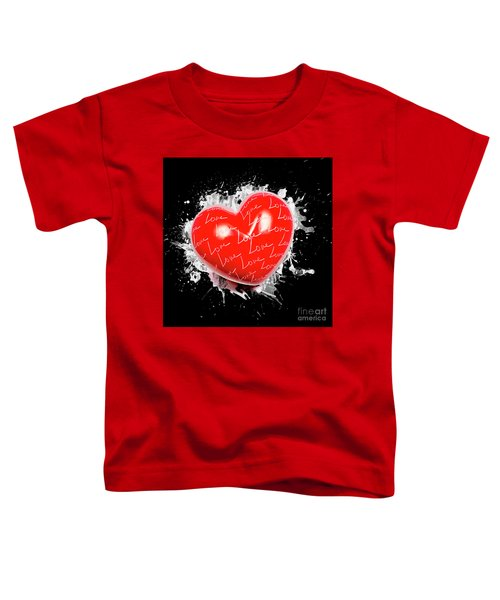 Heart Art Toddler T-Shirt