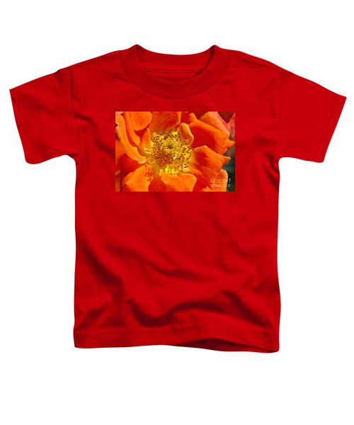 Heart Of The Orange Rose Toddler T-Shirt