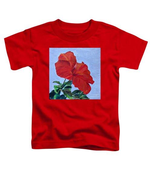 Hibiscus Toddler T-Shirt