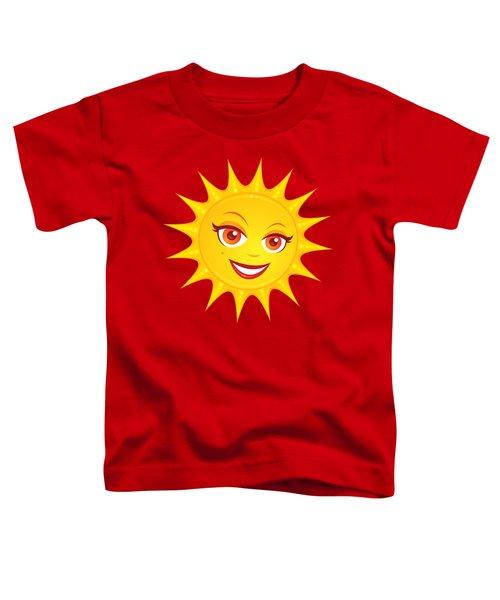 Hot Summer Sun Toddler T-Shirt