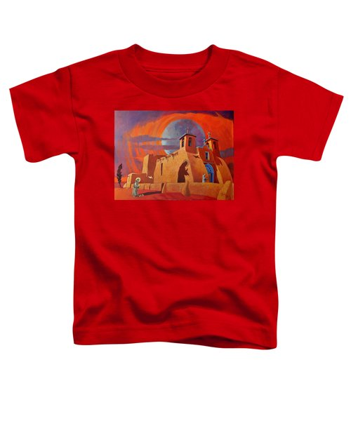 In The Shadow Of St. Francis Toddler T-Shirt