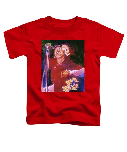 Lady Day - Billie Holliday Toddler T-Shirt