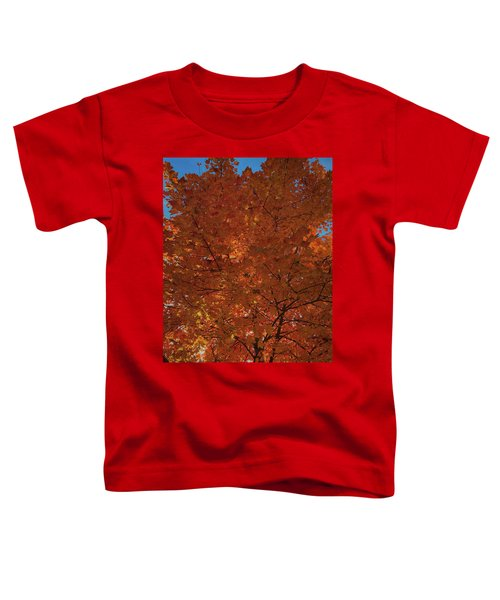 Leaves Of Fire Toddler T-Shirt