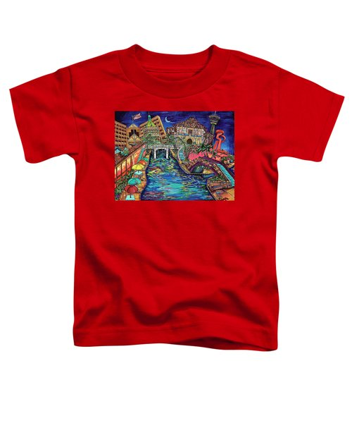 Lights On The Banks Of The River Toddler T-Shirt