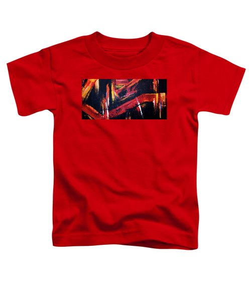 Lines Of Fire Toddler T-Shirt