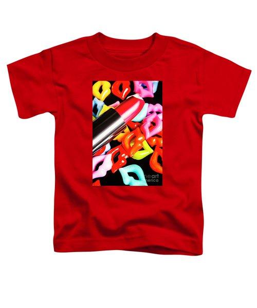Lip Stack Toddler T-Shirt