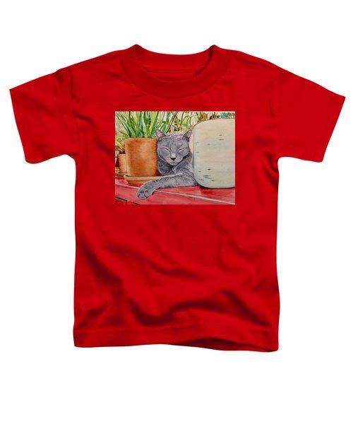 Louie In An Urban Jungle Toddler T-Shirt