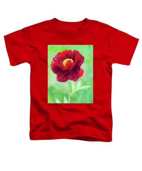 Magnificent Crimson Peony Toddler T-Shirt