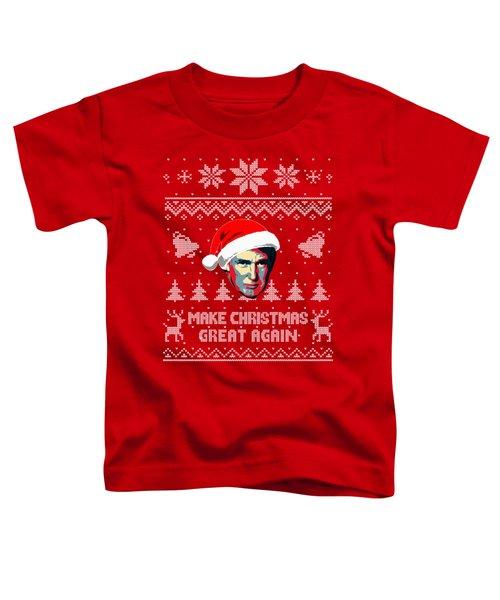 Make Christmas Great Again Toddler T-Shirt