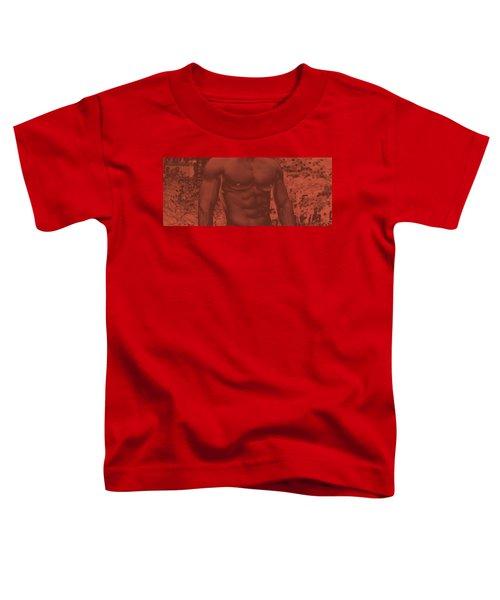Male Torso Toddler T-Shirt