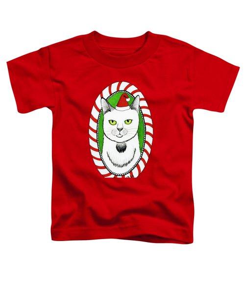 Merry Catmas Toddler T-Shirt