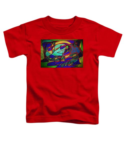 My Fish Knowz You Toddler T-Shirt