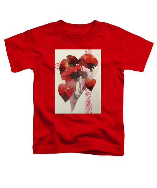 My Valentine Four Toddler T-Shirt
