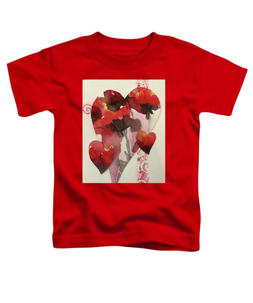 My Valentine Four Toddler T-Shirt