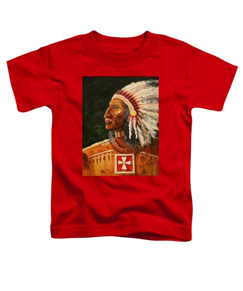 Native American Indian Chief Toddler T-Shirt