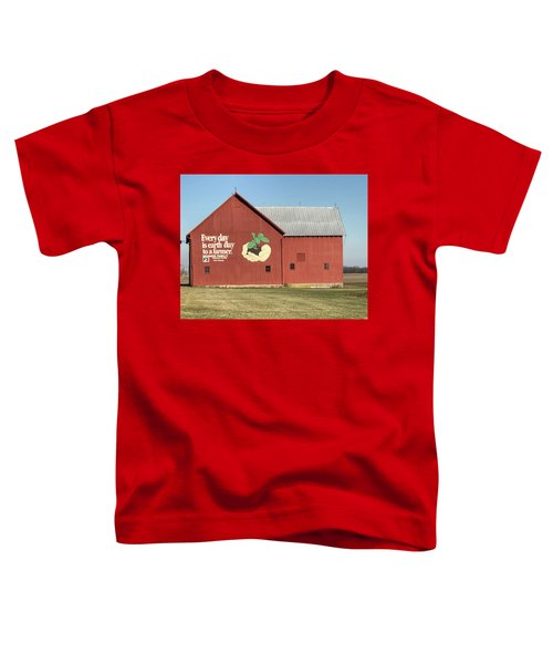 Ohio Barn  Toddler T-Shirt