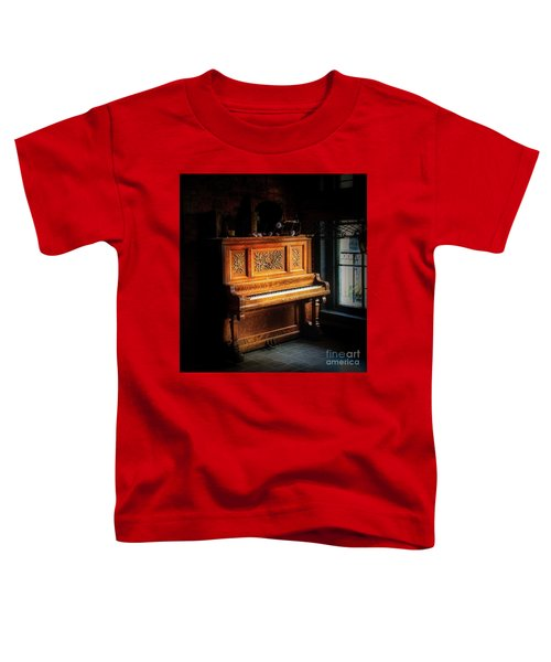 Old Wooden Piano Toddler T-Shirt