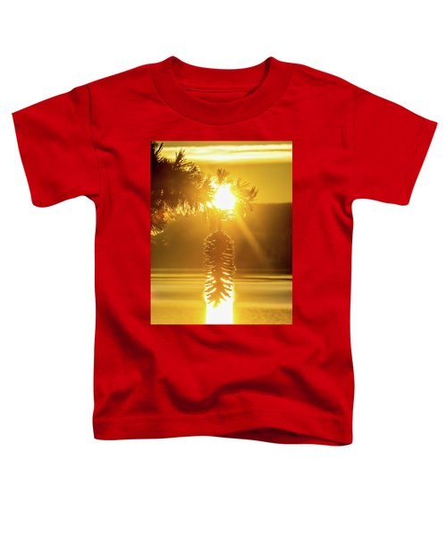 Pine Cone Fire Toddler T-Shirt