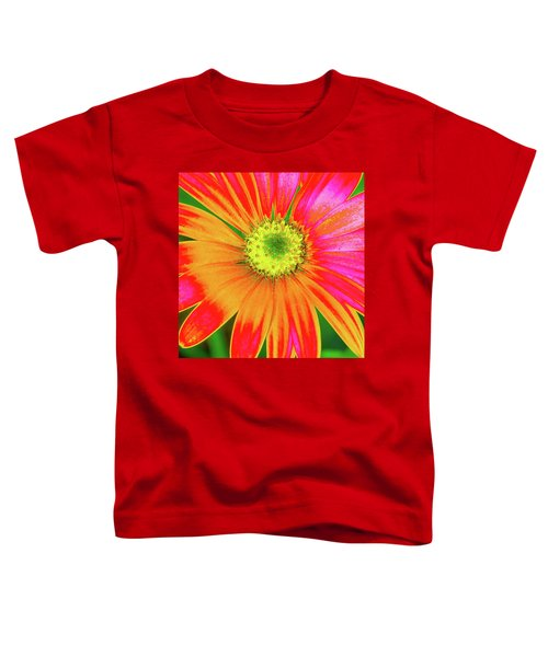 Pop Art Osteospermum 2 Toddler T-Shirt
