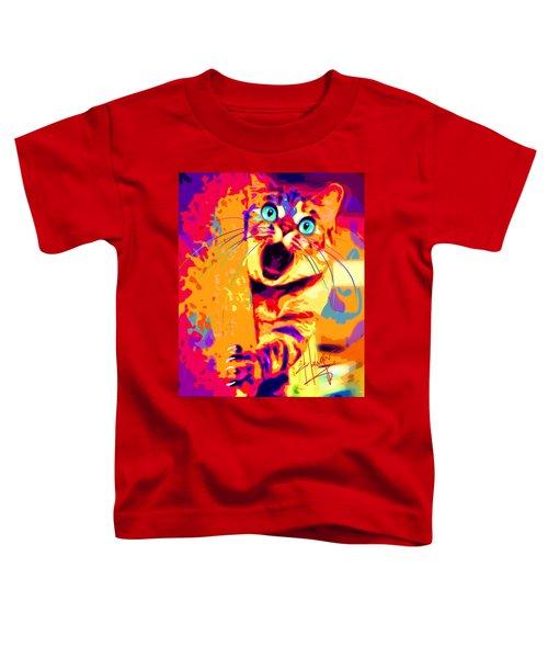 pOpCa PeekaBoots Toddler T-Shirt