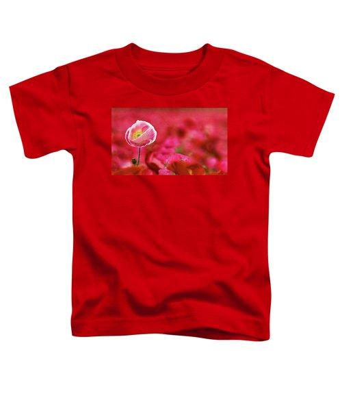 Poppy Standing Tall Toddler T-Shirt