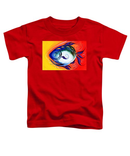 Positive Fish Toddler T-Shirt