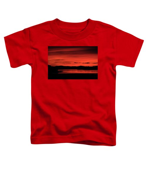 Red Sunset Toddler T-Shirt