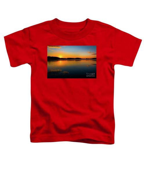 Savannah River Sunrise - Augusta Ga Toddler T-Shirt