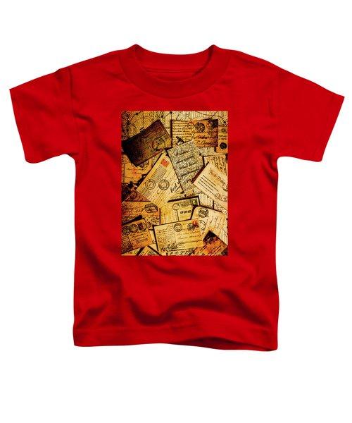 Sentimental Writings Toddler T-Shirt