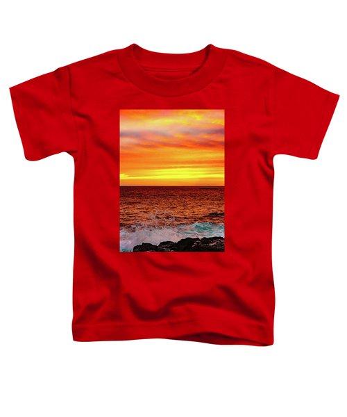 Simple Warm Splash Toddler T-Shirt