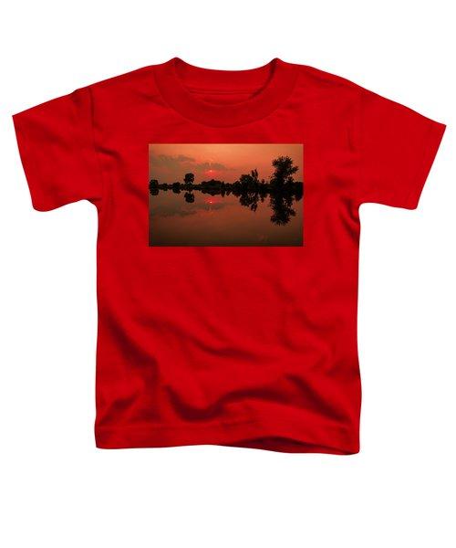 St. Vrain Sunset Toddler T-Shirt