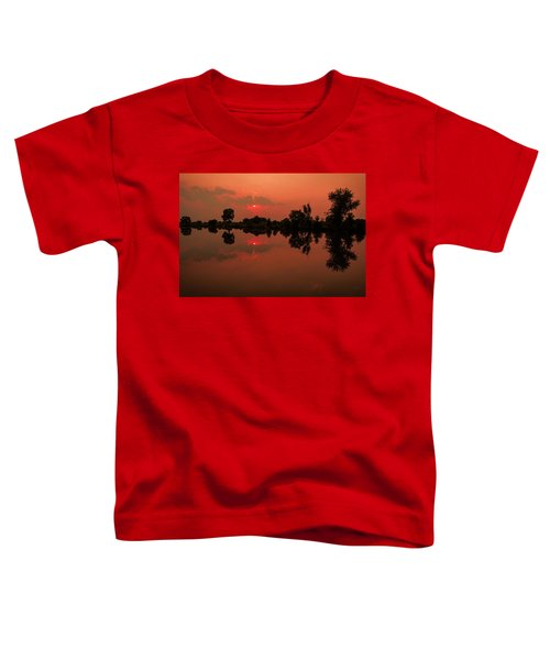 St. Vrain Sunset Toddler T-Shirt