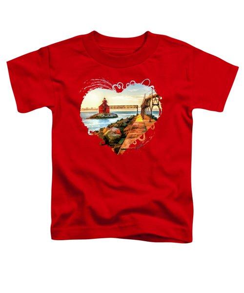 Sturgeon Bay Canal Pierhead Light Toddler T-Shirt
