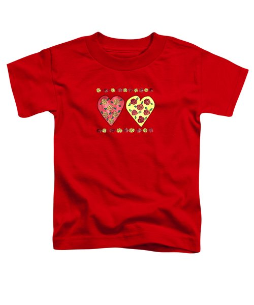 Love And Roses Toddler T-Shirt