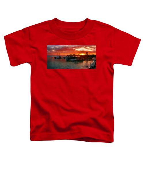Sunrise In Cancun Toddler T-Shirt