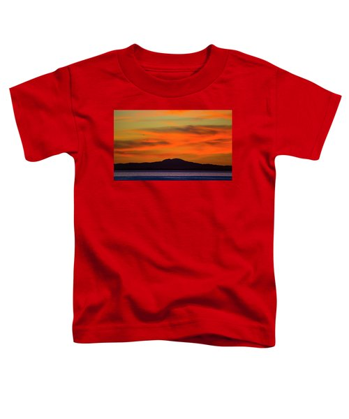 Sunrise Over Santa Monica Bay Toddler T-Shirt