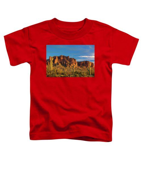 Sunset At Superstition Mountain Toddler T-Shirt