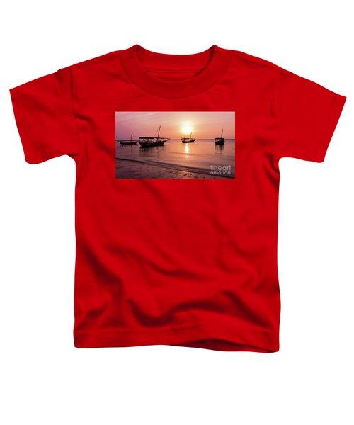 Sunset In Zanzibar Toddler T-Shirt