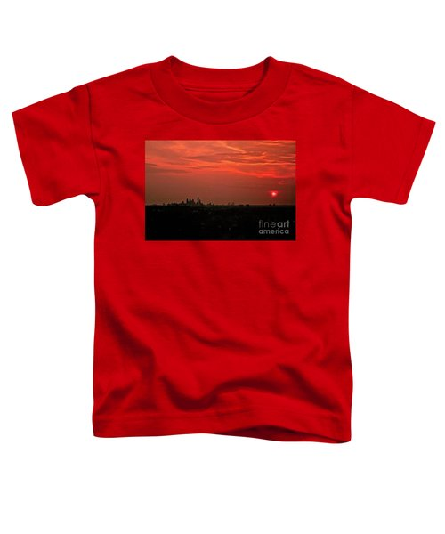 Sunset Over Philly Toddler T-Shirt