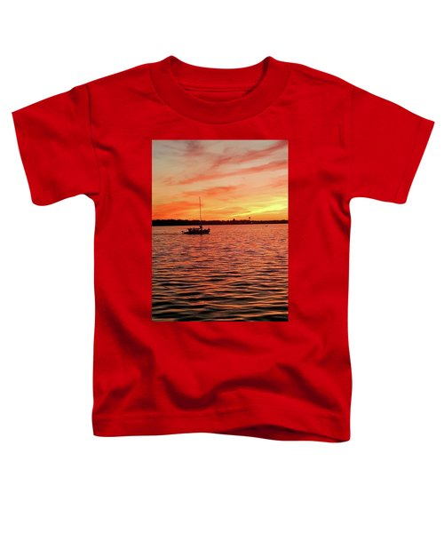 Sunset Sail Toddler T-Shirt