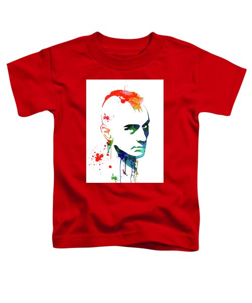 Taxi Driver Watercolor Toddler T-Shirt