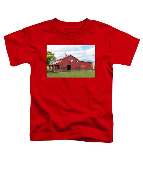 Texas Red Barn Toddler T-Shirt