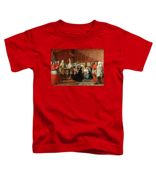The Baptism Of Prince Charles Edward Stuart, 1725 Toddler T-Shirt