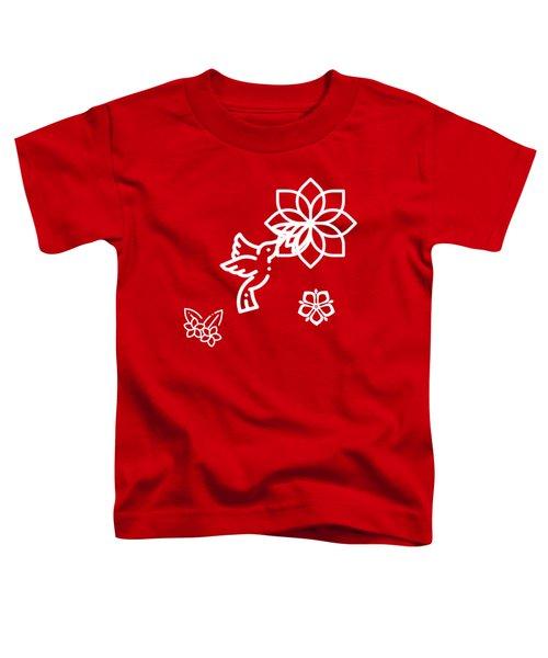 The Kissing Flower On Flower Toddler T-Shirt
